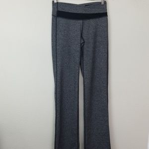 LuLulemon 6 pants Wide Leg Flare Gray
